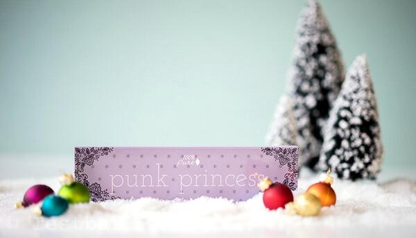 Punk Princess Palette - Lidschattenpalette undCruelty Free Smudger Brush E20 - Lidschattenpinsel