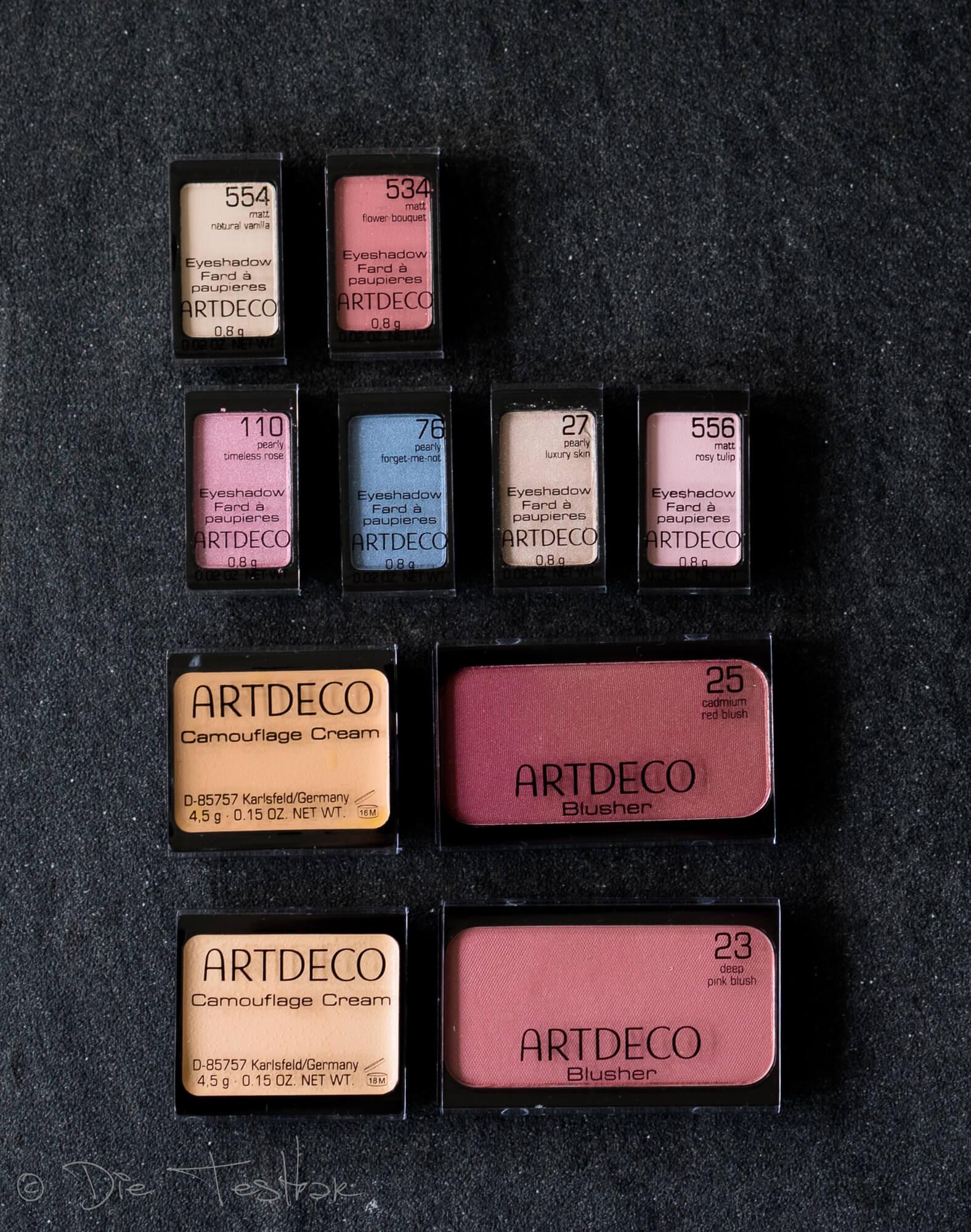 Schicke Magnetboxen mit tollem Inhalt zum selbstbefüllen von Artdeco