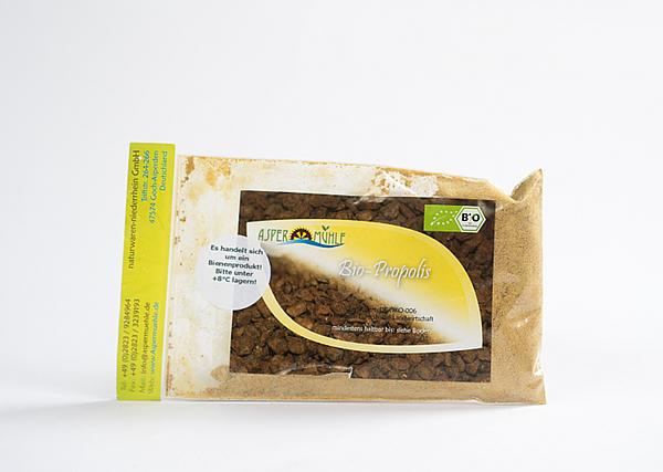 Superfood und Super pflegende Rohstoffe aus der Aspermühle - Bio Propolis Pulver - 1A Imkerqualität - kbA