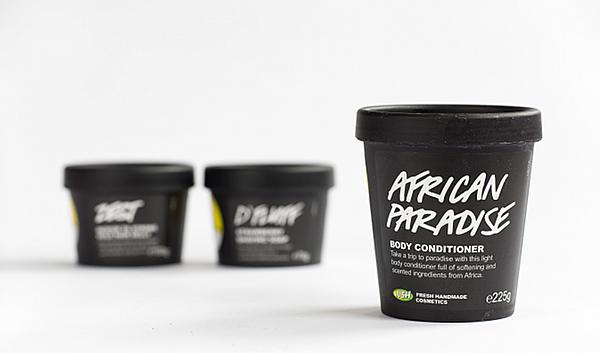 Die neusten Produkte von Lush - AFRICAN PARADISE BODY CONDITIONER - Körperconditioner