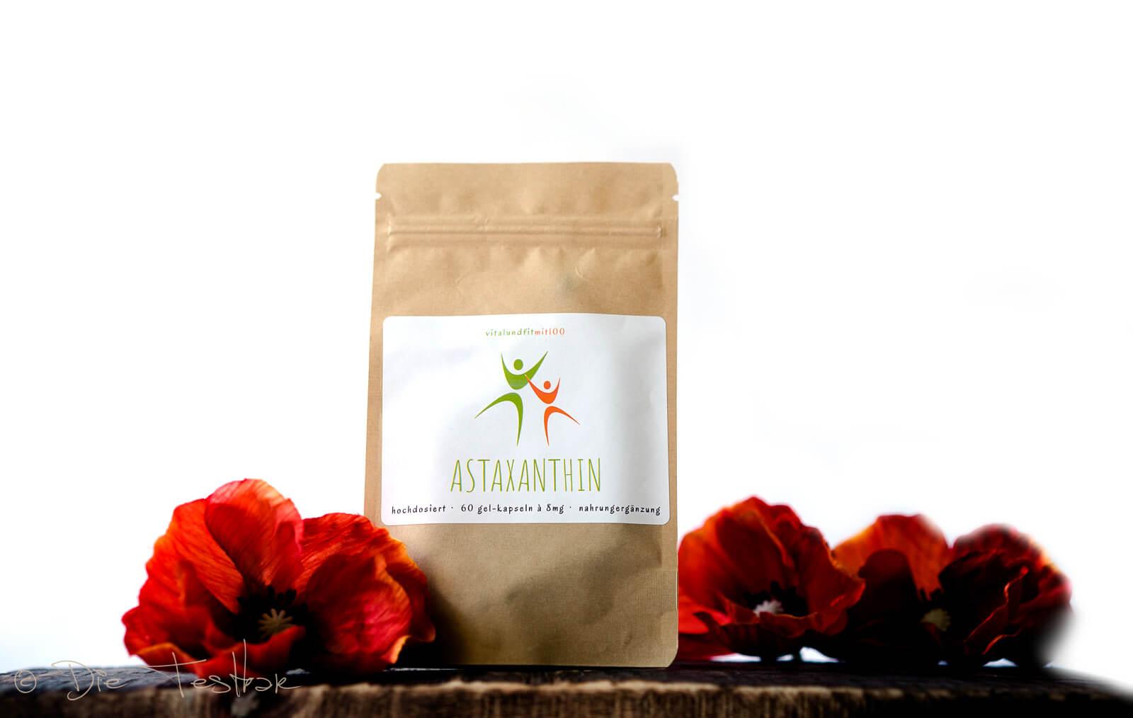 Astaxanthin Kapseln (60 Stück à 8 mg) | HOCHDOSIERT