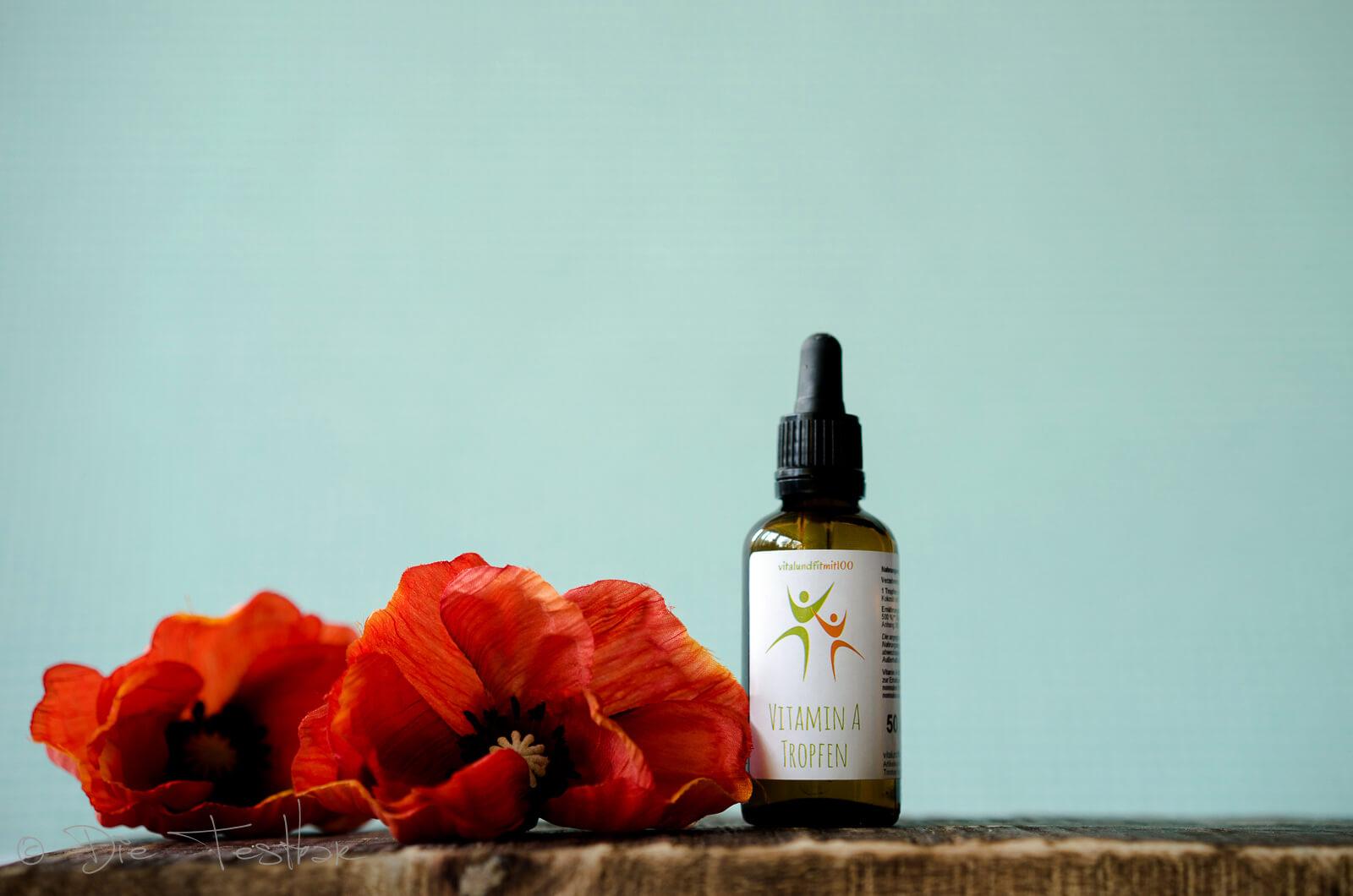 Vitamin A - flüssig 50 ml (500 mcg/ 5000 IE pro Tropfen)