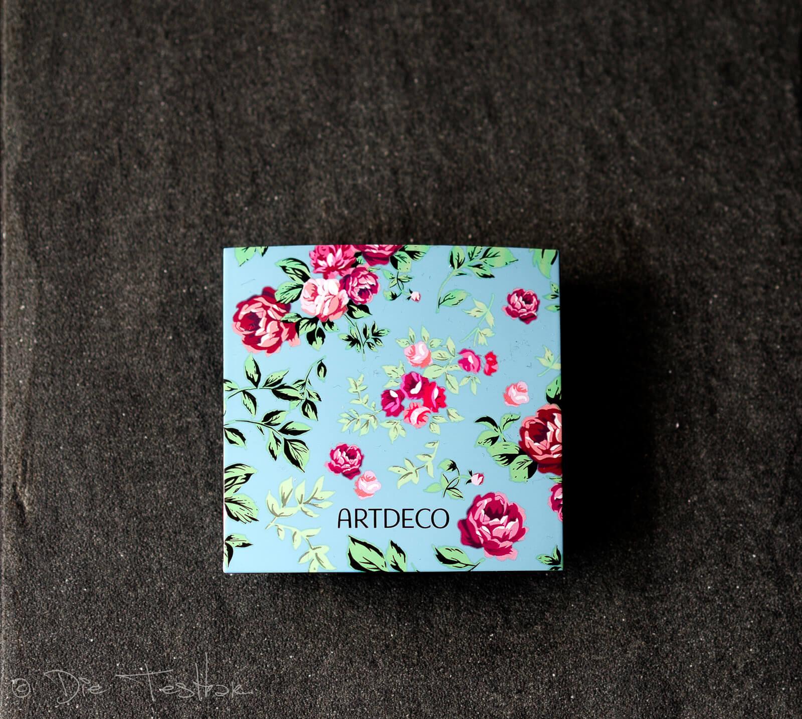 BEAUTY BOX TRIO Magnetbox für 3 Lidschatten im limitierten floralen Design
