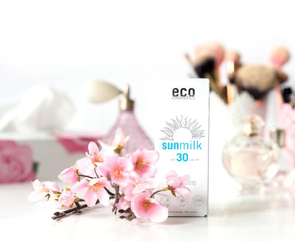 eco Sonnenmilch sensitiv LSF 30 hoher Lichtschutz