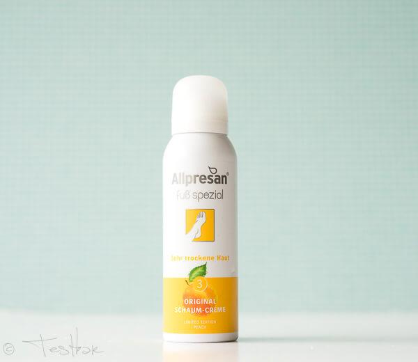 Allpresan - Allpresan Original Schaum-Creme Limited Edition Peach