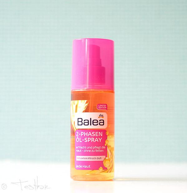 Balea - 2-Phasen Öl-Spray
