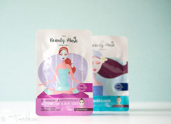 The Beauty Mask Company - Tuchmaske Beruhigung & Entspannung Wassermelone & Aloe Vera