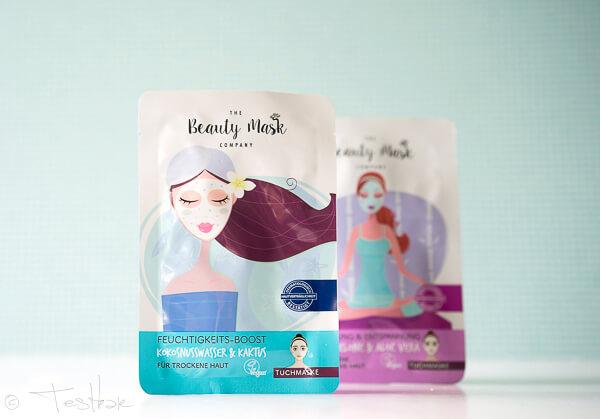 The Beauty Mask Company - Tuchmaske Feuchtigkeit-Boost Kokoswasser & Kaktus