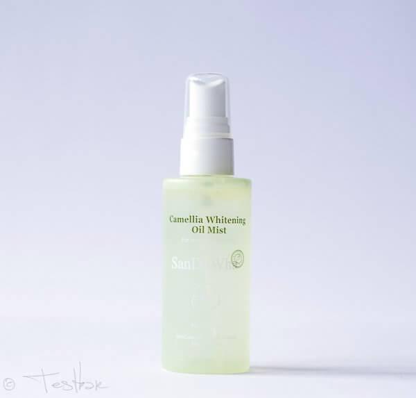 Naturkosmetik - Camellia Whitening Oil Mist - Pflegendes Gesichtsspray mit Kamelienöl von SanDaWha