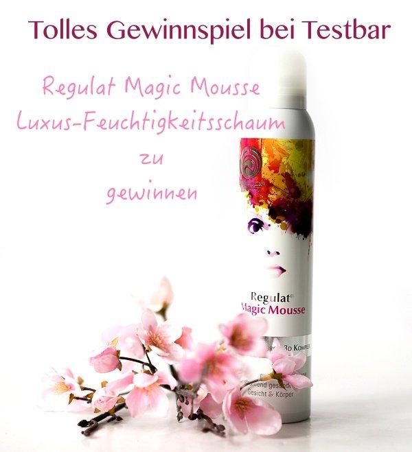 Gewinnspiel - Regulat Magic Mousse – Luxus-Feuchtigkeitsschaum