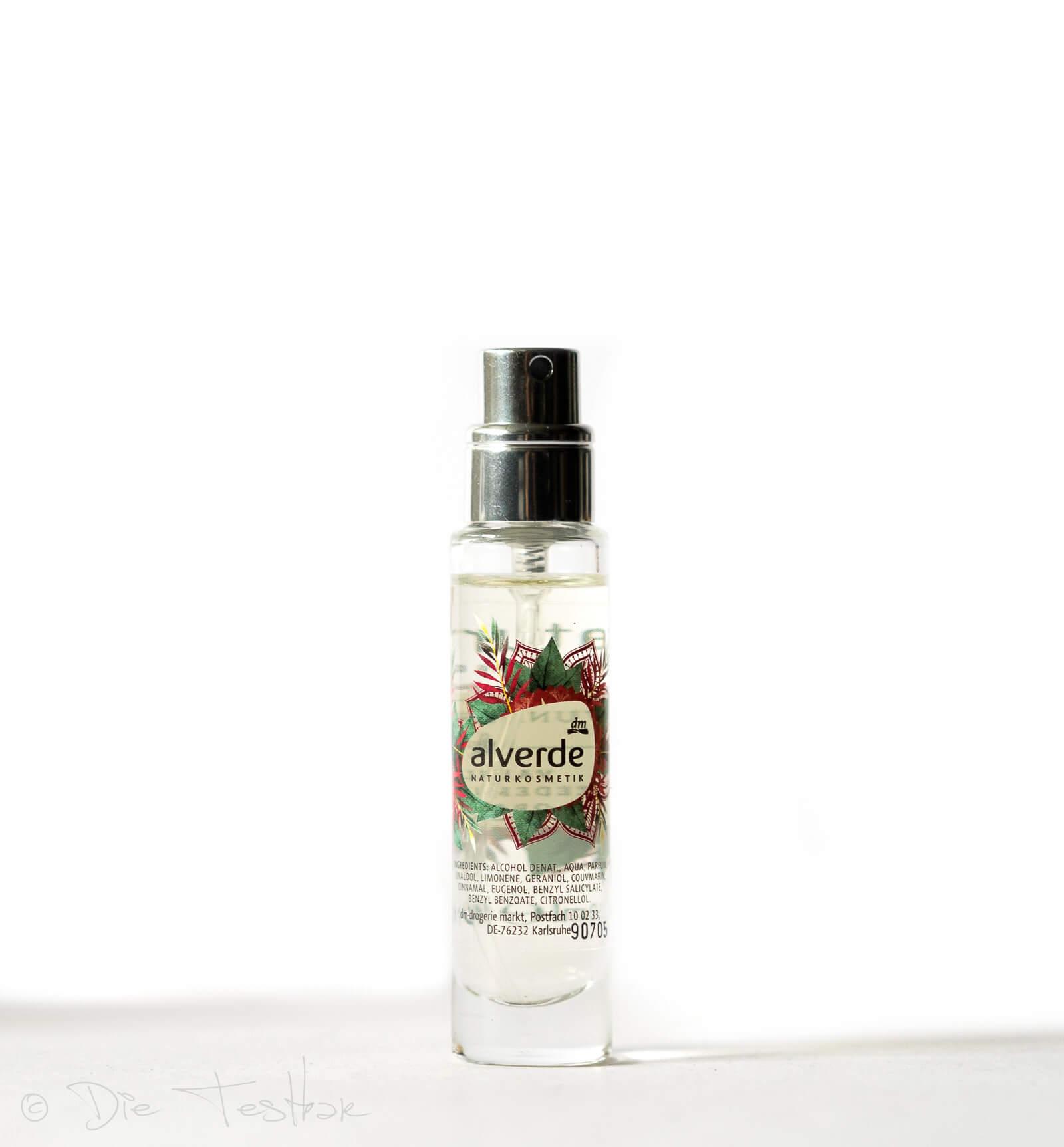 alverde NATURKOSMETIK -Eau de Parfum Wunderwelt