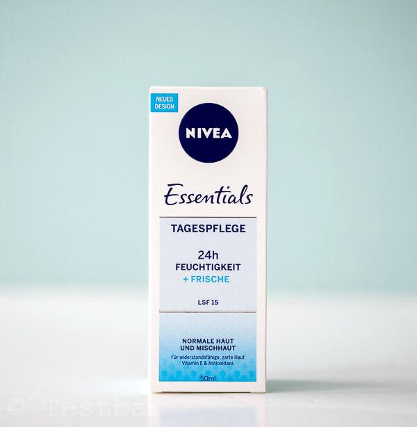 FRISCHE, GESCHMEIDIGE HAUT NIVEA - Essentials 24h FEUCHTIGKEIT + FRISCHE Tagespflege