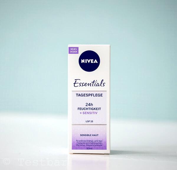 Tagespflege - BERUHIGTE HAUT - NIVEA Essentials 24h FEUCHTIGKEIT + SENSITIV