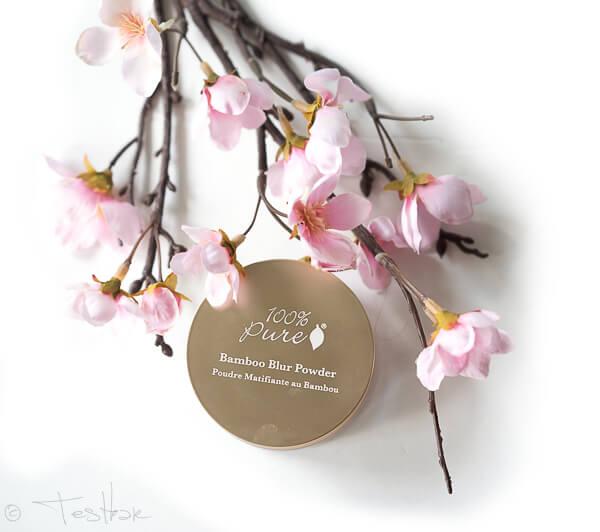 Naturkosmetik - Bamboo Blur Powder - Puder von 100% PURE