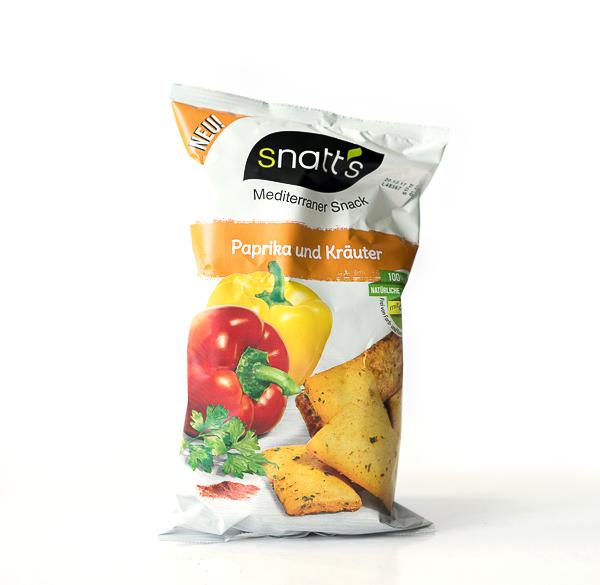 SNATT'S - Paprika und Kräuter