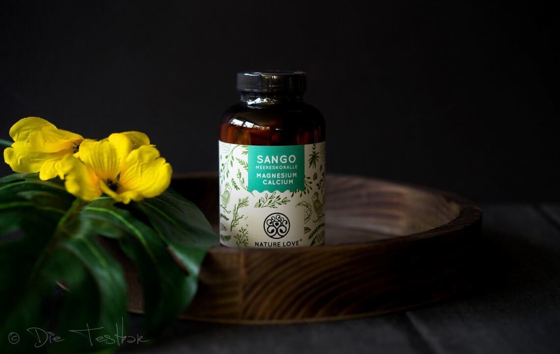 Sango Meereskoralle mit Calcium und Magnesium von Nature Love