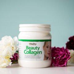 Das Beauty Collagen, 400g Pulvervon Vitality Nutritionals soll für eine straffere, elastischere Haut sorgen, soll feine Linien und Fältchen reduzieren, den Kollagenaufbau der Haut fördern und ihre Feuchtigkeit steigern. Also ein echtes Anti-Aging Wunder, wenn alles das stimmen sollte. Dabei handelt es sich hier um ein reines Naturprodukt, […]
