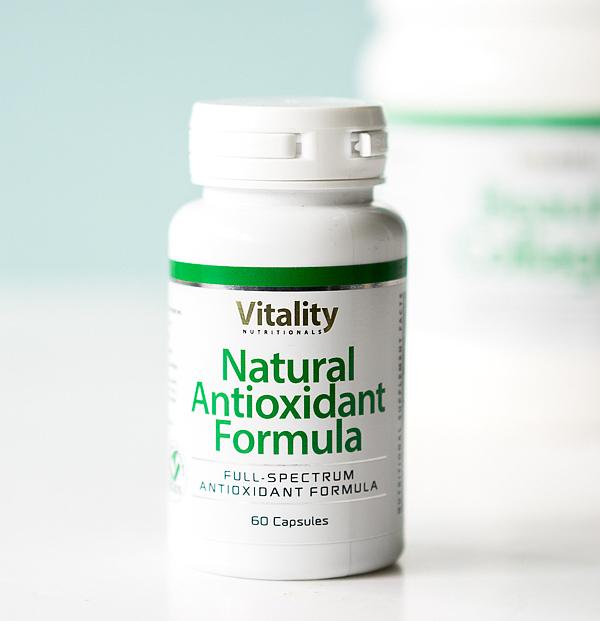 Anti-Aging - Natural Antioxidant Formula Kapseln