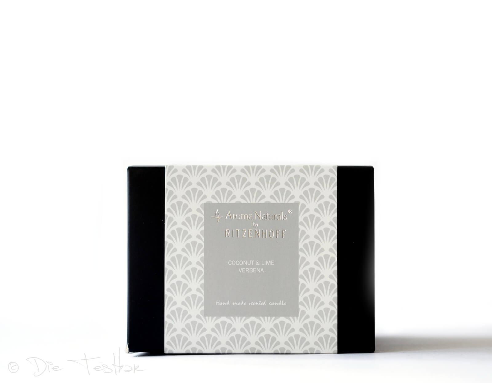 Aroma Naturals -Luxury Duftkerze 3-Docht, Coconut & Lime Verbenna