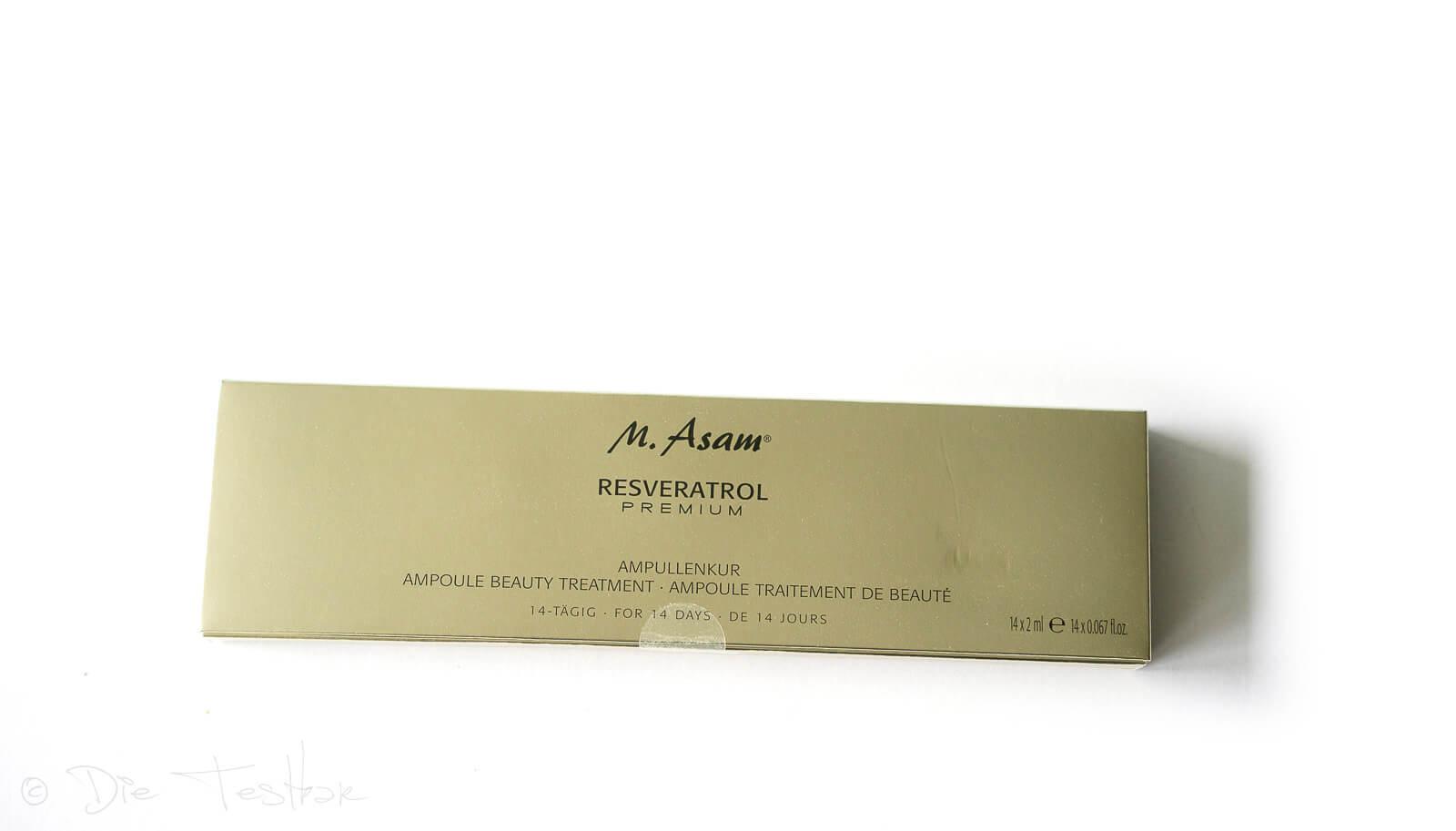 M. Asam - Resveratrol Premium Ampullenkur