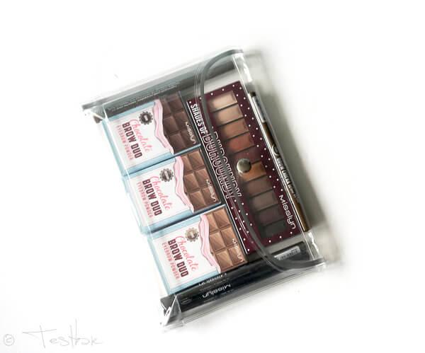 Chocolate Factory Kollektion - Augen- und Brauenprodukte von Misslyn