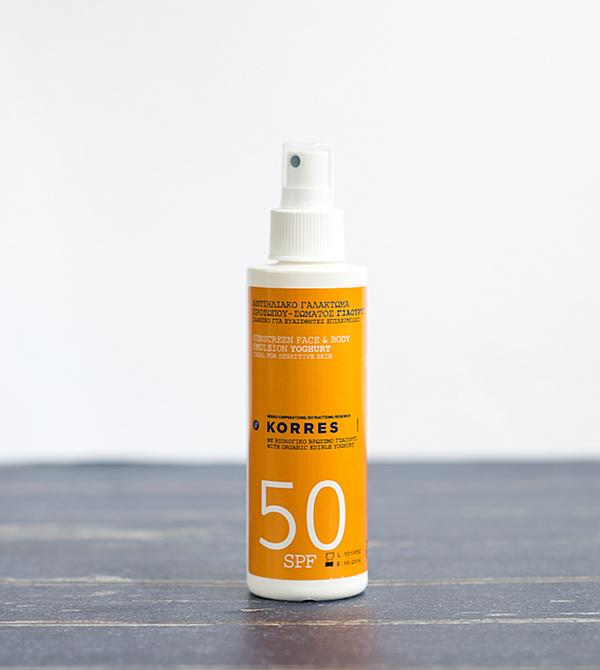 Korres Yoghurt SPF 50 Sonnenemulsion
