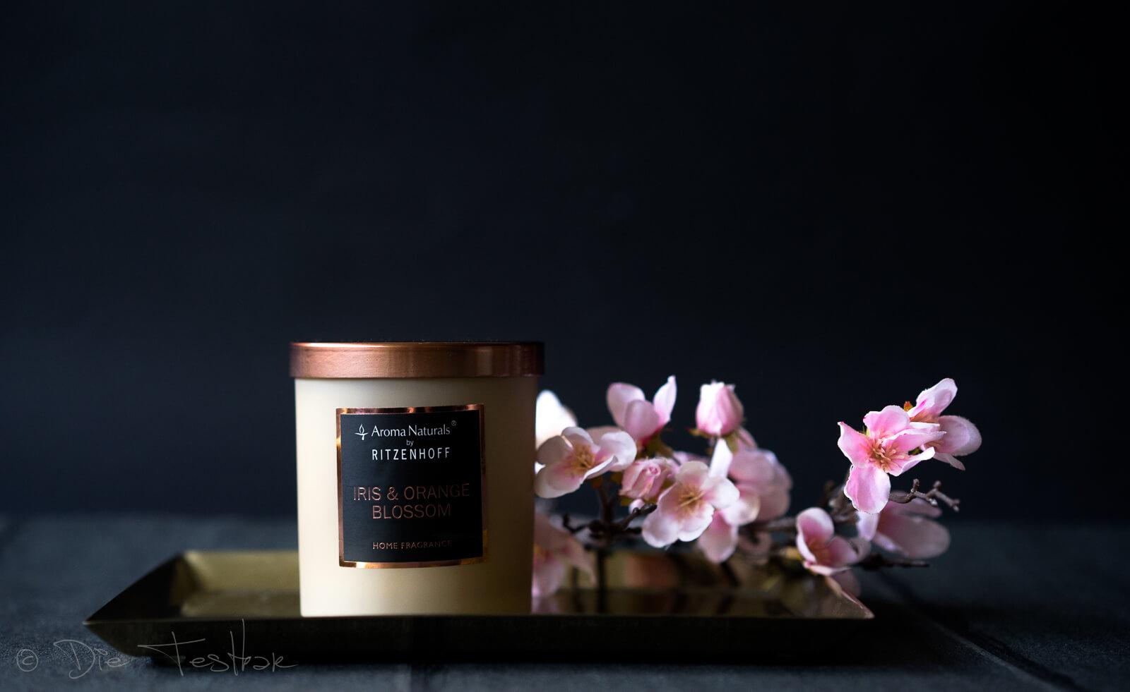 Selection Duftkerze, Iris & Orange Blossom
