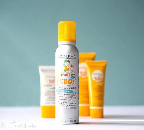 NEU: Photoderm KID Mousse -Sonnenschutz-Schaum für Kinder ab 12 Monaten mit SPF 50+ - Beugt Zellschäden und Sonnenallergie vor