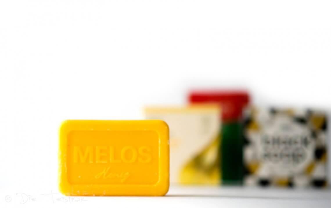 Melos Pflanzenöl-Seife Honig