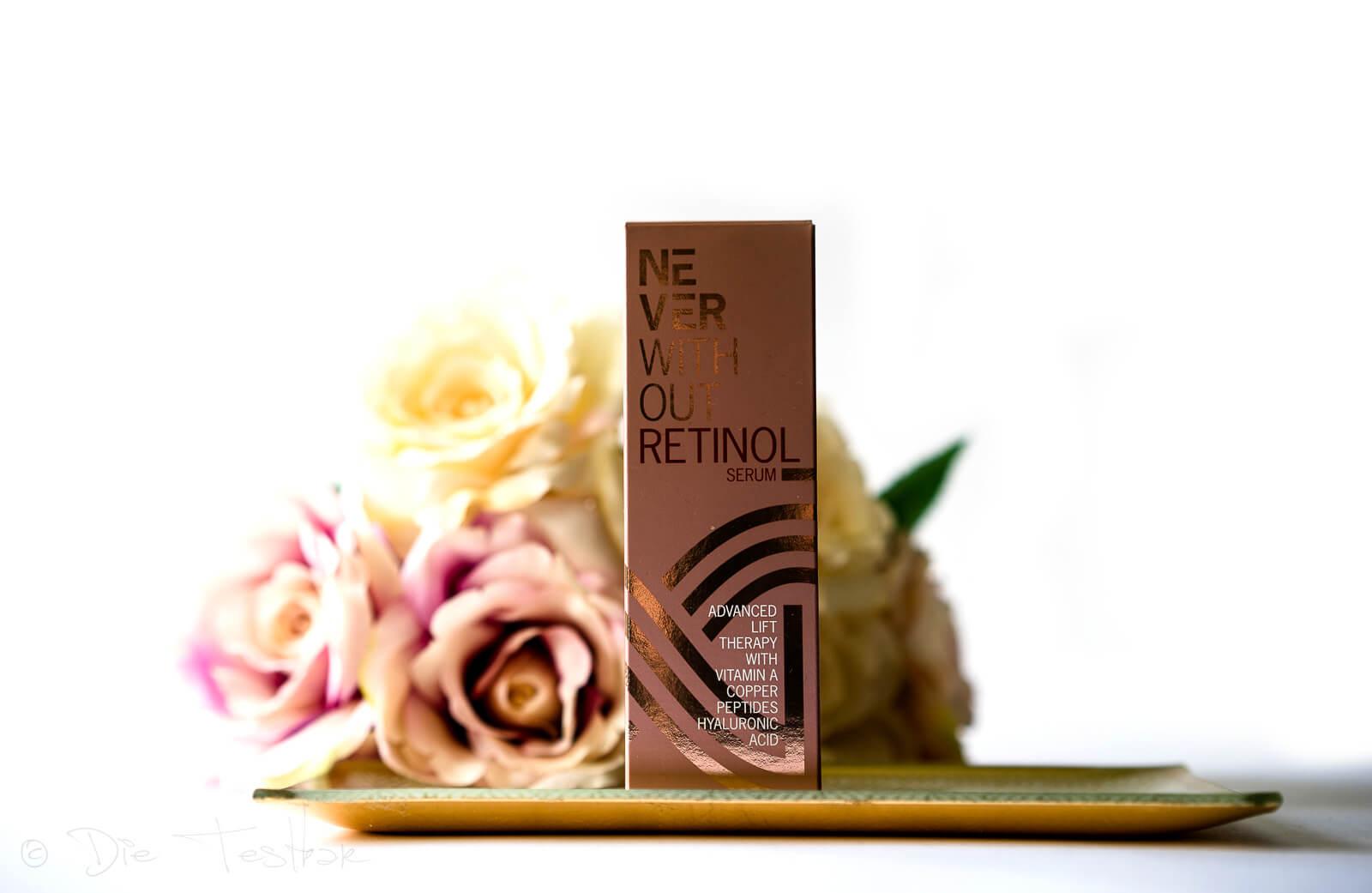 NeverWithout Retinol Serum - Mit der Kraft speziell ausgewählter Anti-Aging-Wirkstoffe