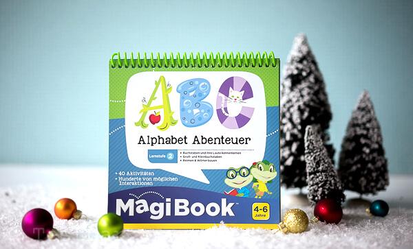 Gewinnset 4 - MagiBook von VTech mit zwei Lernbüchern
