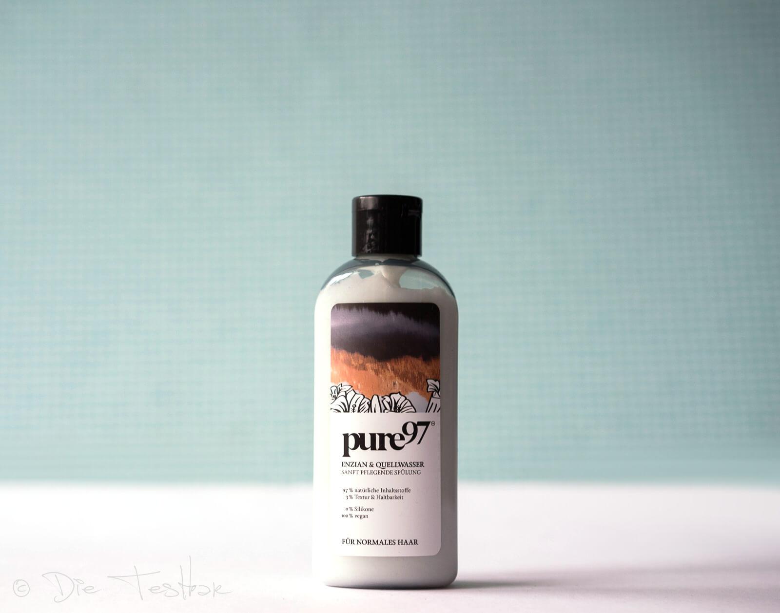 pure97 - Enzian & Quellwasser Spülung