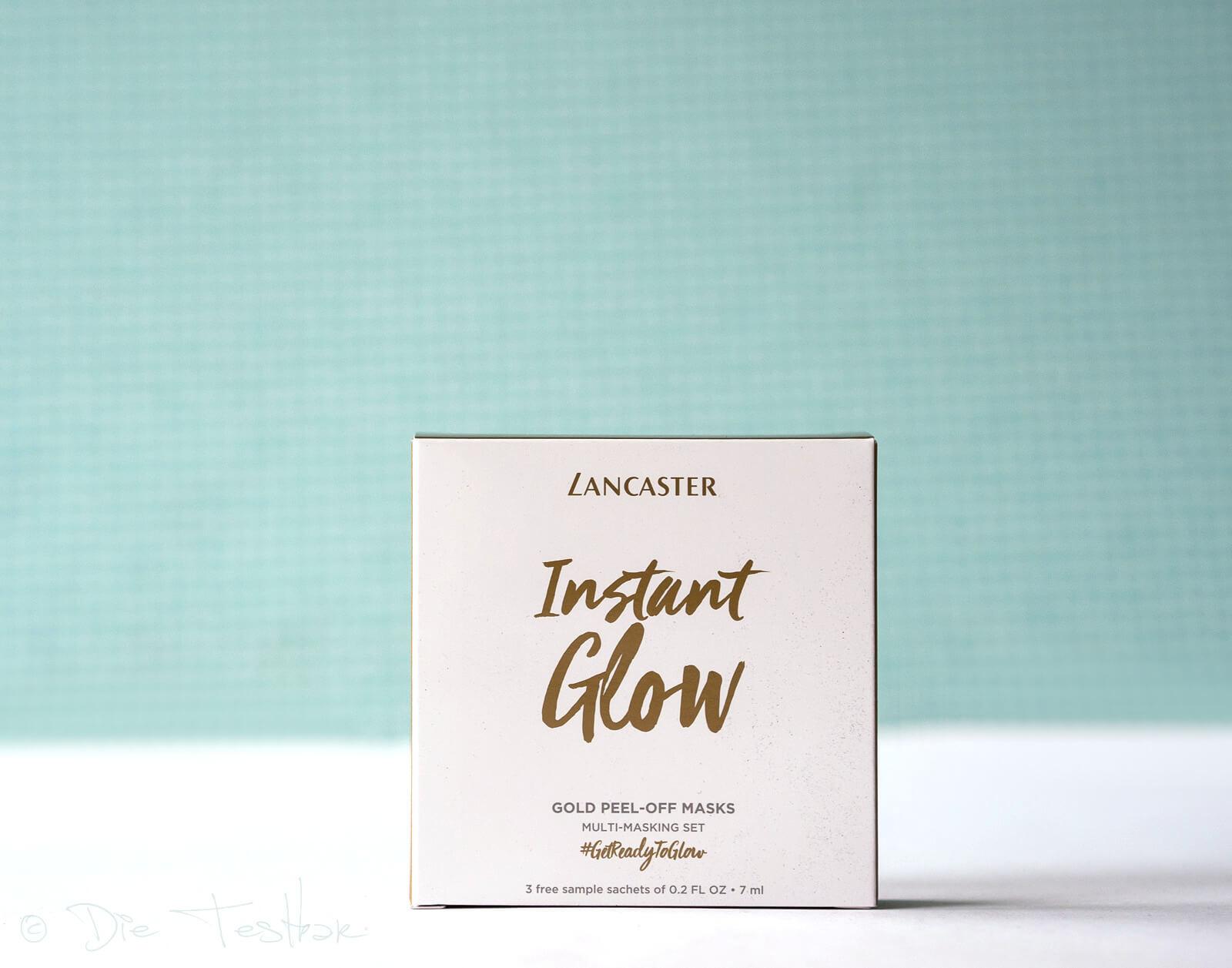 LANCASTER - Instant Glow Gesichtsmasken-Set