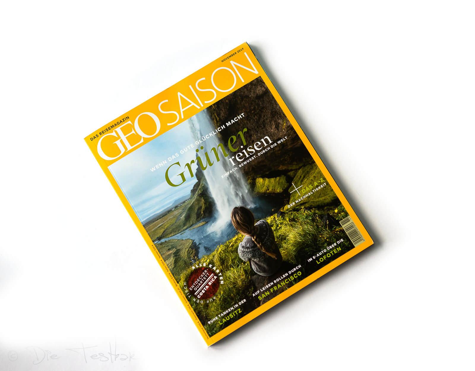 Geo - Saison - Zeitschrift