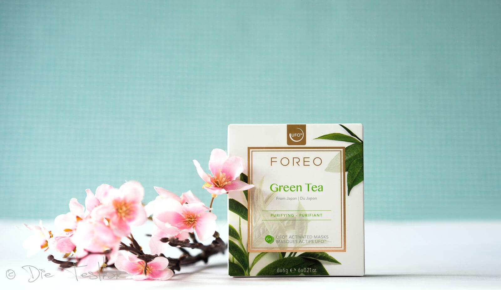 Green Tea Maske