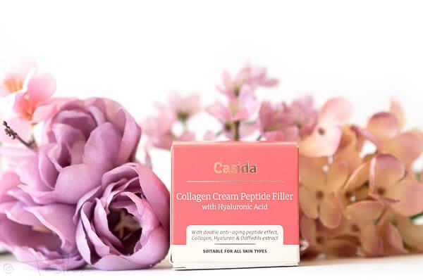 Collagen Creme Peptid Filler mit Hyaluron von Casida