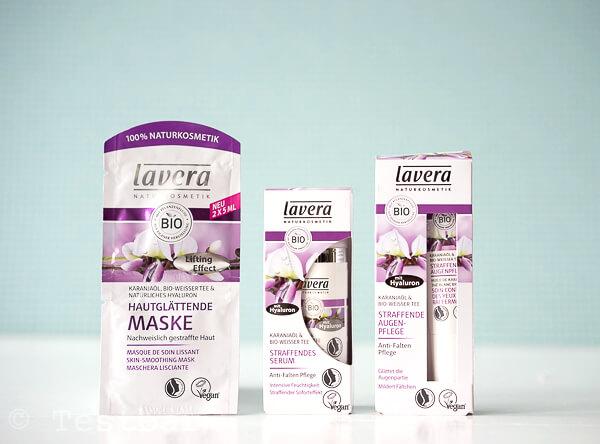 Naturkosmetik - Straffende Pflege mit Karanjaöl & Bio-Weisser Tee von Lavera