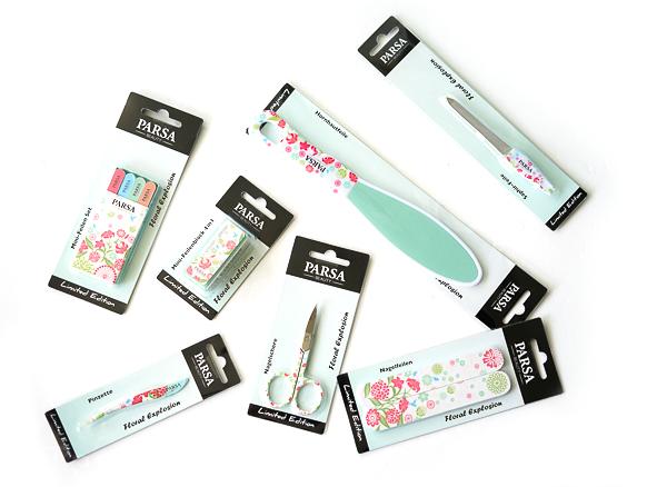 Parsa beauty im sommerlichen Look - Aktuelle Limited Edition Floral Explosion Linie