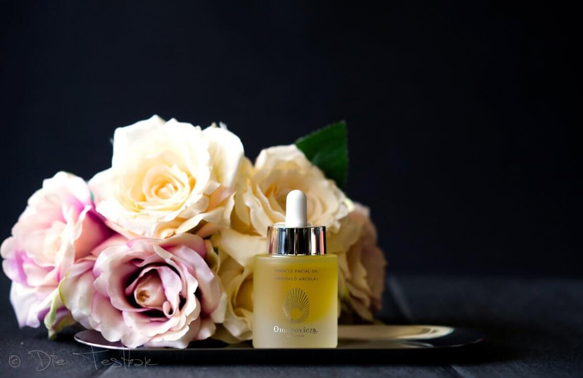 Miracle Facial Oil mit Bakuchiol - Gesichtsöl für jüngere, stark befeuchtete und fettbefreite Haut von Omorovicza