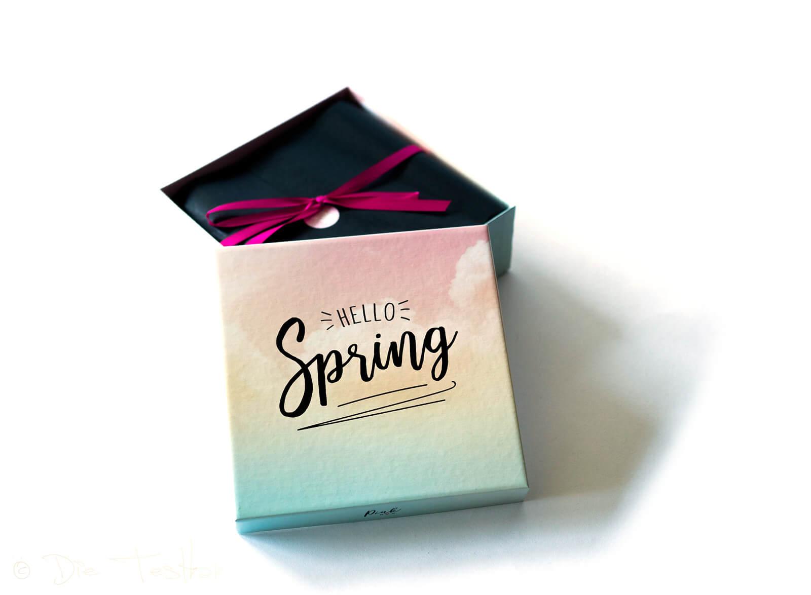 DIE PINK BOX im März 2020 – Pink Box Hello Spring 2020