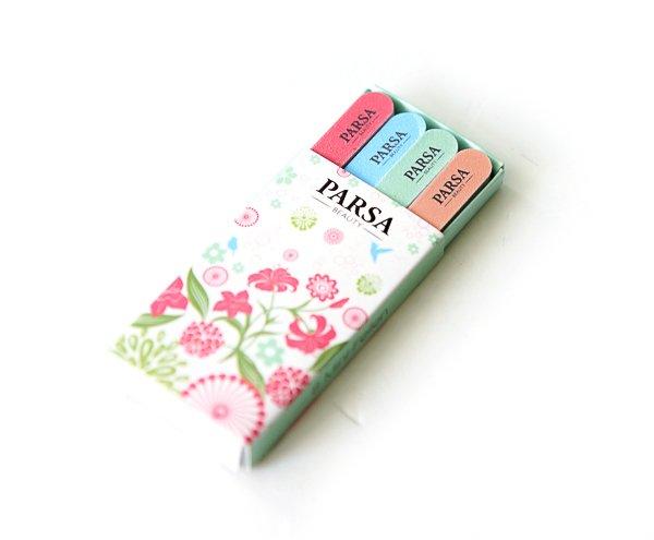 PARSA Beauty Floral Explosion - Mini-Feilen Set