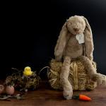 Ostergeschenk und Osterdeko – Süßes Kuscheltier Hase Richie