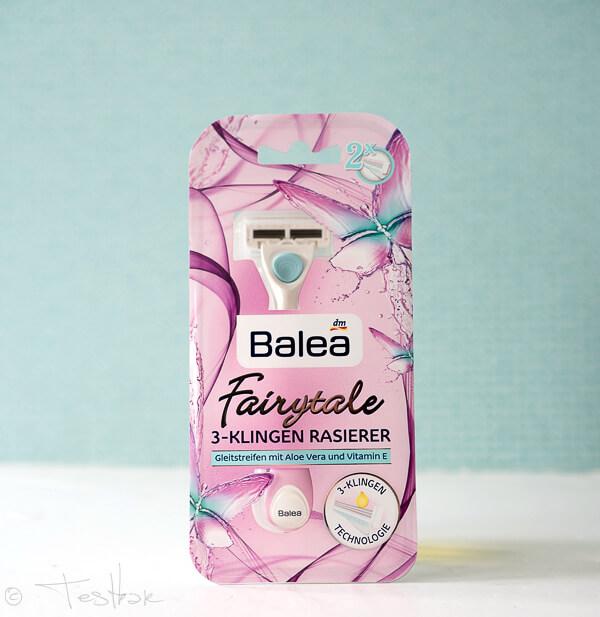 Balea -Balea - Fairytale 3-Klingen Rasierer