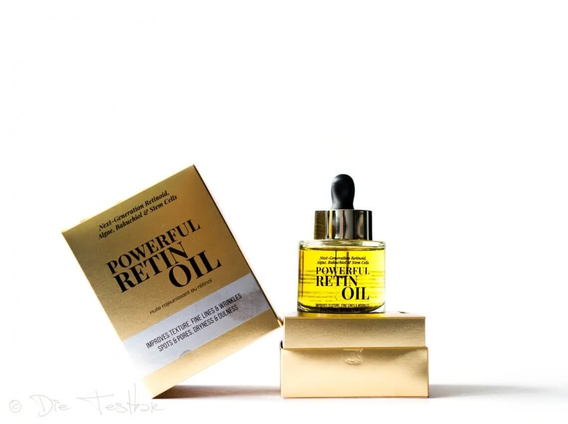 Powerful Retin Oil von Instytutum - Das reichhaltige goldene Öl mit Retinol