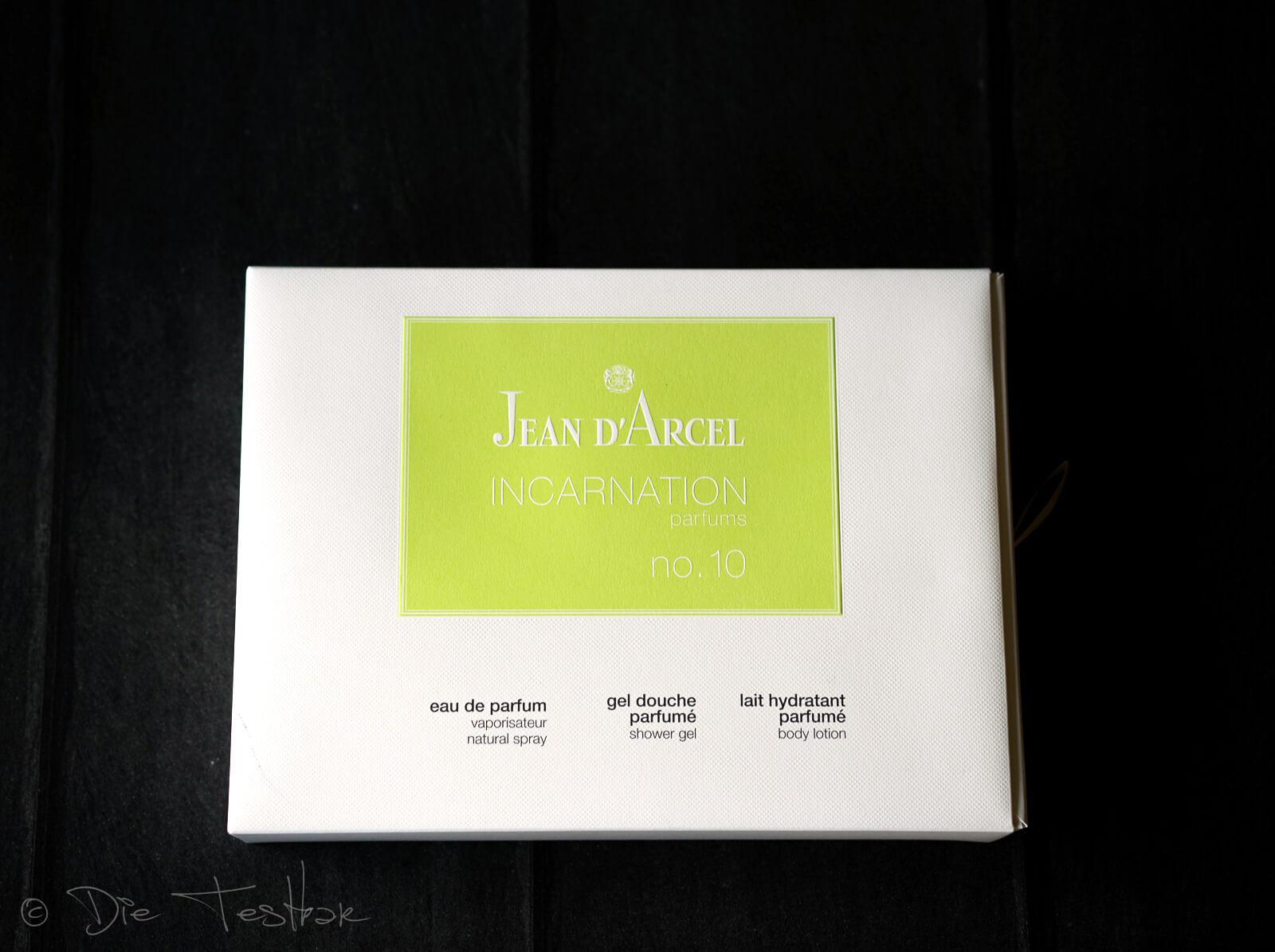 Jean d'Arcel Incarnation No 10 Geschenkpackung