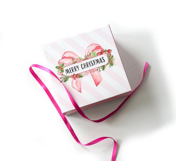 Die Pink Box im Dezember 2017 – Merry Christmas
