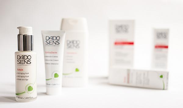 Pflegeprodukte von Dado Sens