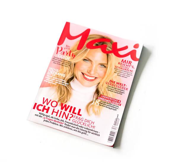 Maxi Zeitschrift