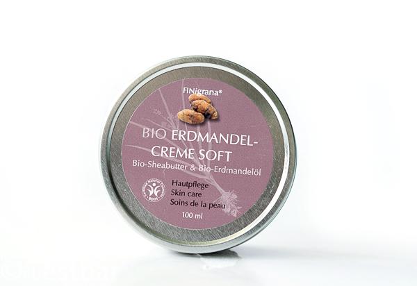 Bio Erdmandelcreme-Soft 15ml i. PE Tiegel + Umkarton