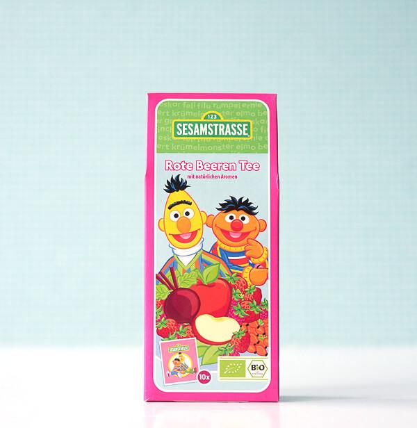 SESAMSTRASSE BIO -Rote Beeren & Früchte Tee